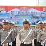 Personil Polda Aceh pada hari kamis tanggal 1 agustus 2013 melaksanakan gelar Oprasi Ketupat Rencong2013 di halaman Polda Aceh.