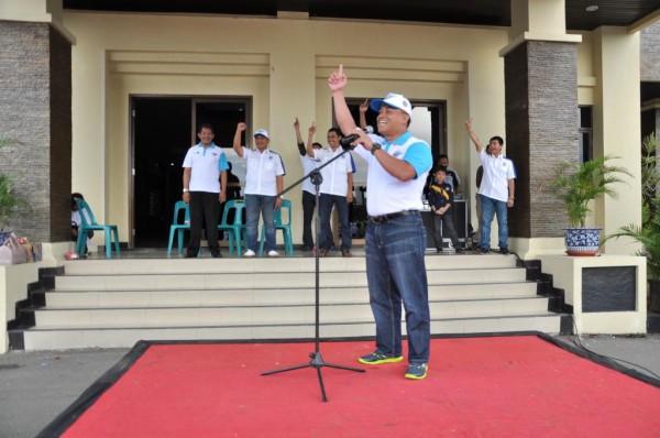 Dirlantas Polda Aceh membuka acara