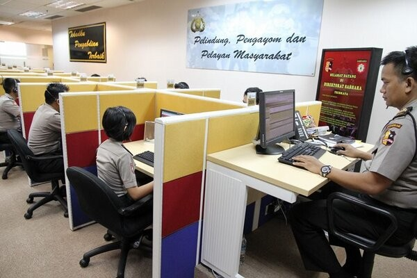 call center polri
